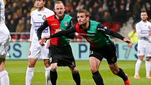 NEC en Roda JC winnen allebei in Jupiler League