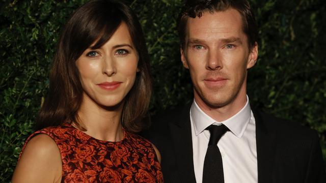 'Benedict Cumberbatch trouwt op Valentijnsdag'