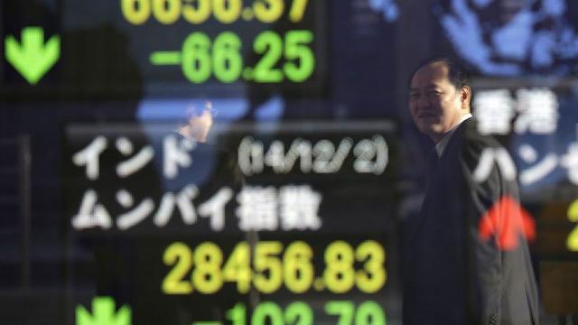 Aandelenbeurs Japan licht hoger na wisselvallige dag