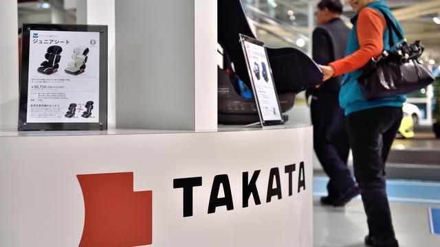 Top airbagmaker Takata levert salaris in