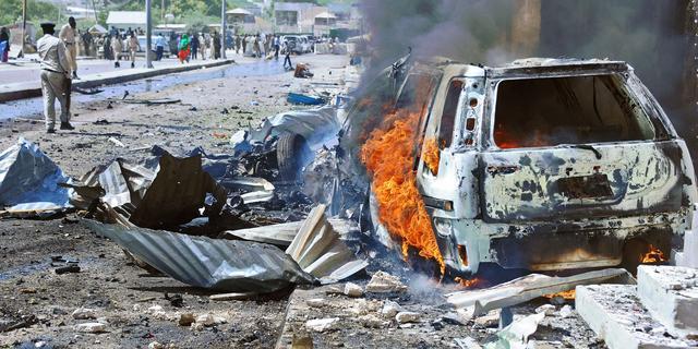 Veel doden bij aanslag hotel Mogadishu