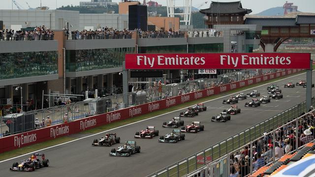 Grand Prix van Zuid-Korea geschrapt uit Formule 1-kalender