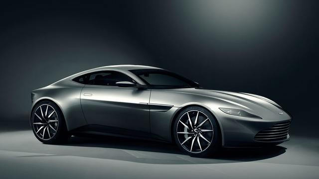 Aston Martin DB10 is nieuwe Bond-auto