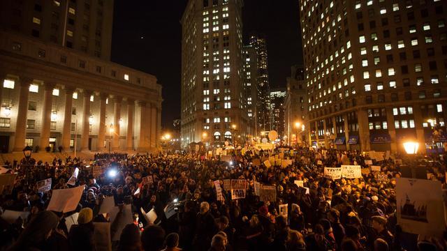 Nieuwe protesten in New York