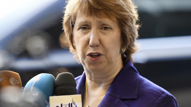 Ashton blijft namens EU atoomoverleg met Iran voeren