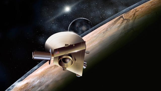 'Ruimtesonde New Horizons heeft vrij baan naar Pluto'
