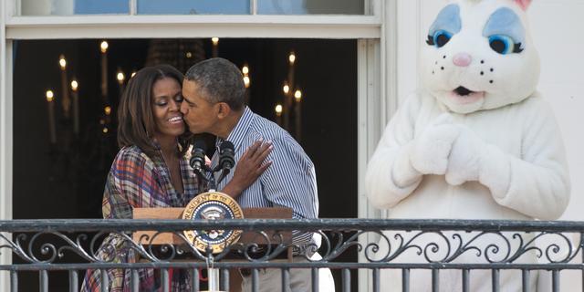 Nederlandse uitgever boeken Barack en Michelle Obama is Hollands Diep