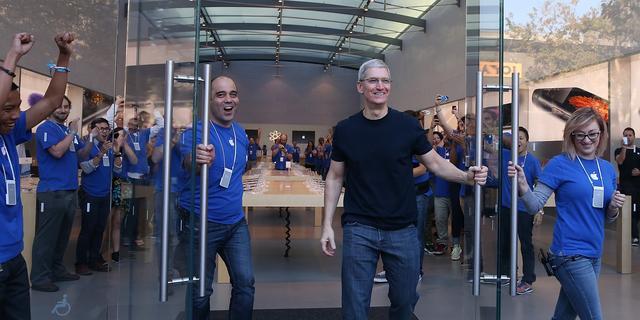 Apple-CEO Tim Cook in bestuur mensenrechtenorganisatie
