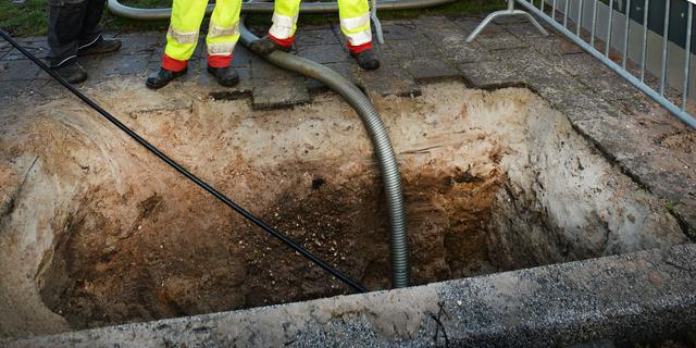 Ongeveer drie kilometer gasleiding Apeldoorn schoon