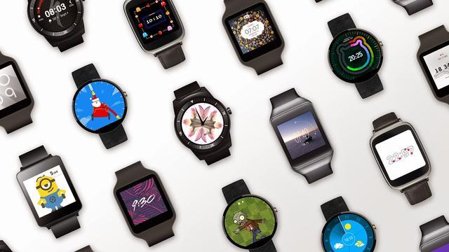 Android Wear 5.0 met meer horlogeopties aangekondigd