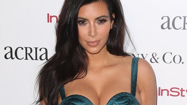 Kim Kardashian in december uitgerekend