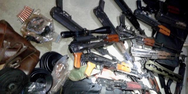 'Wapens Loosdrechtse wapenvondst niet gebruikt bij liquidaties'