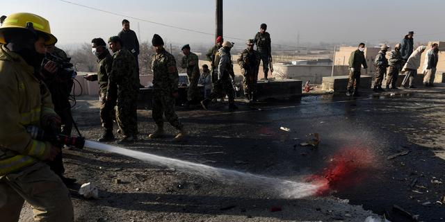 Vijf doden bij zelfmoordaanslag Kabul