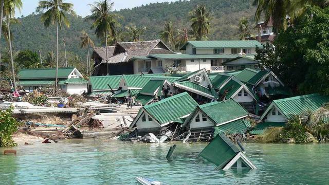 Overstromingen in Atjeh tien jaar na tsunami