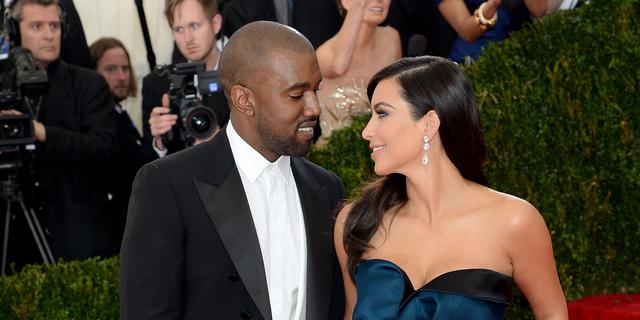 'Kim Kardashian geeft Kanye West basketbalveld'