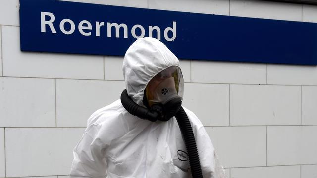 Drukte in winkelhart Roermond na asbestramp