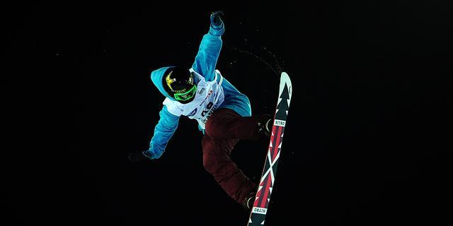 Snowboardster Maas pakt brons bij wereldbeker Big Air