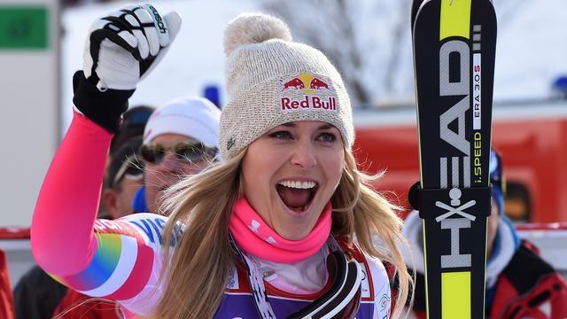 Skiester Vonn nadert na 61e wereldbekerzege record Moser