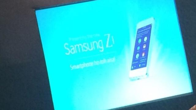 Samsung Z1 met Tizen te zien op foto's
