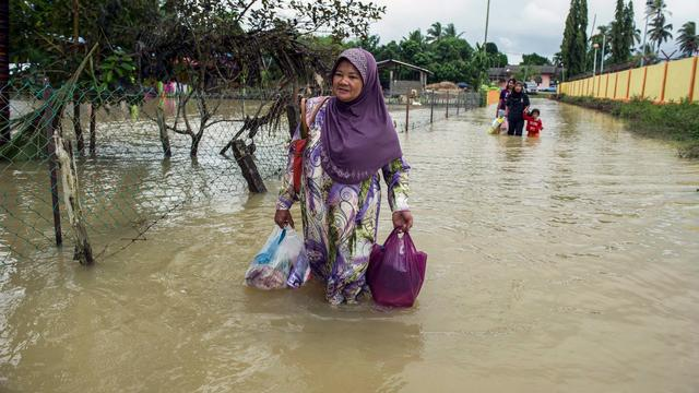 Zestien Nederlanders vast in resort Maleisië door overstromingen