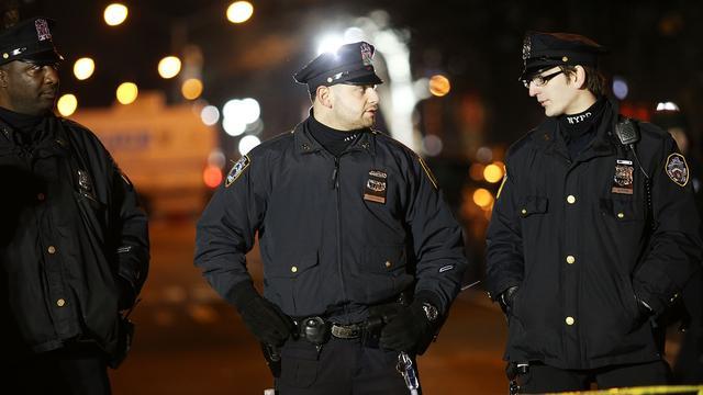 Twee agenten doodgeschoten in New York