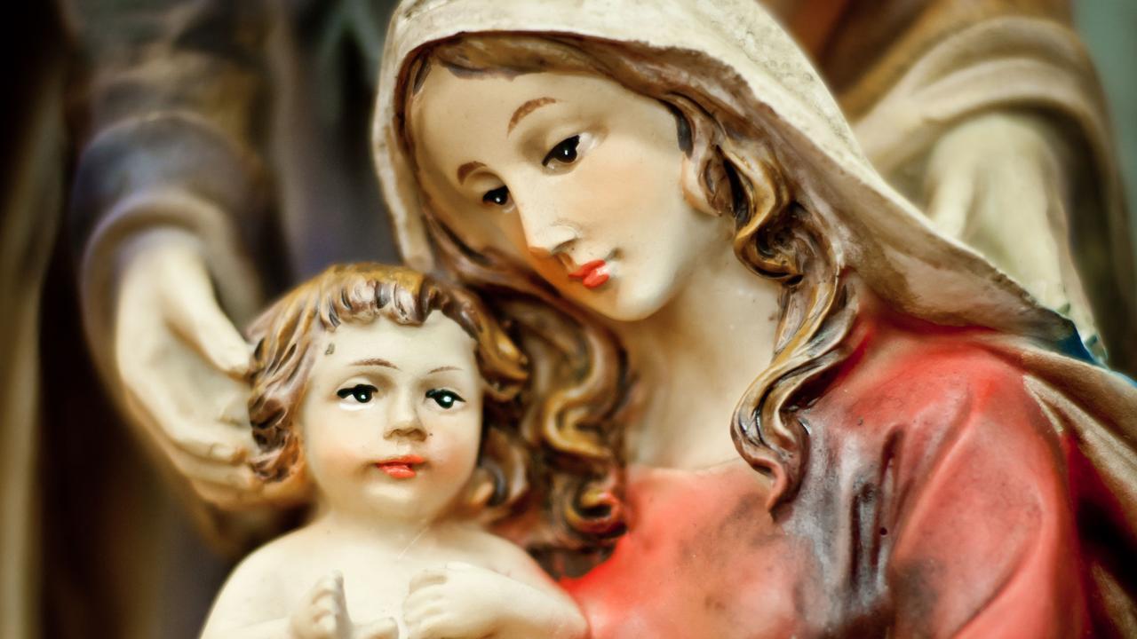 Baby gevonden in kerststal