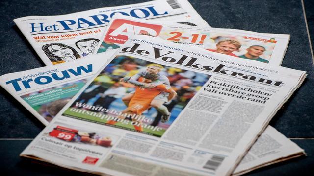 Volkskrant en Trouw zien printoplage stijgen