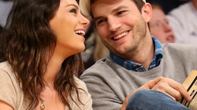 Zoontje Ashton Kutcher en Mila Kunis heet Dimitri