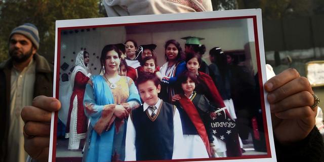 'Brein achter aanslag school Pakistan gedood'