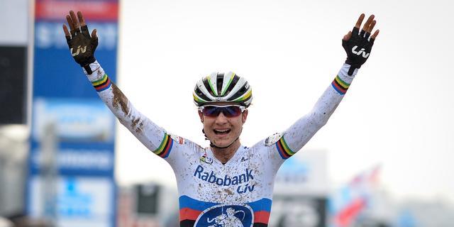 Vos en Van der Haar winnen veldrit in Heusden-Zolder