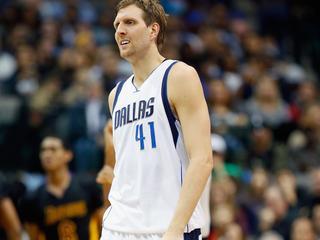 Duitser van Dallas Mavericks heeft in totaal 27.322 punten achter zijn naam staan