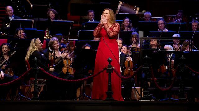 Sopraan Eva-Maria Westbroek geeft optreden in Nederland