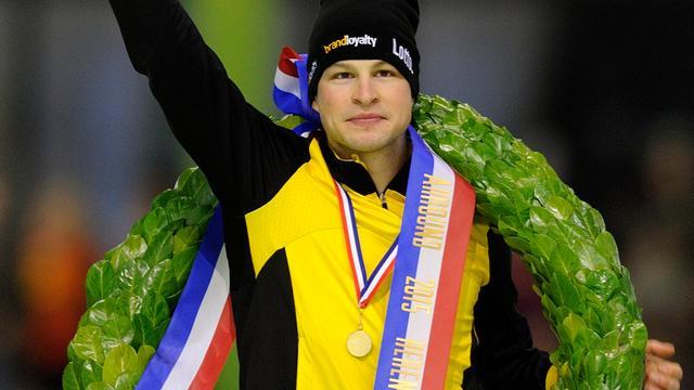 Sven Kramer haalt veel voldoening uit zesde NK-titel