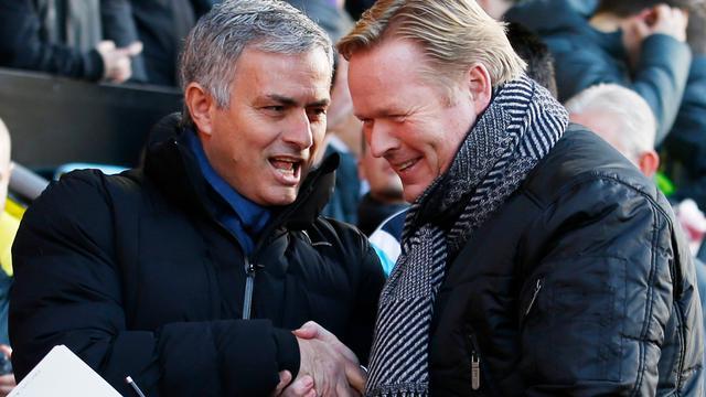 Trotse Koeman gunt Mourinho titel 'manager van het jaar'