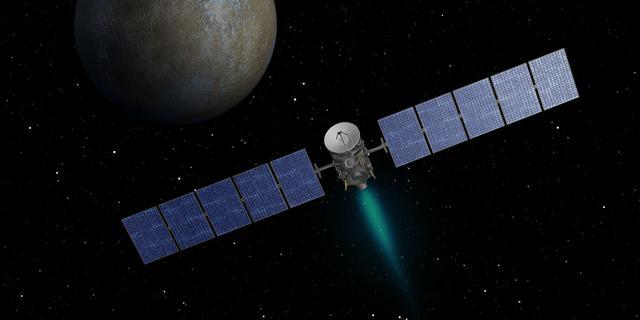 NASA-ruimtesonde nadert dwergplaneet Ceres