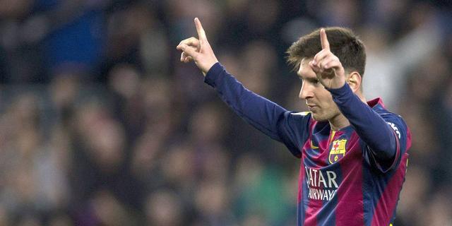 'Messi met 65 miljoen euro best verdienende voetballer in 2014'