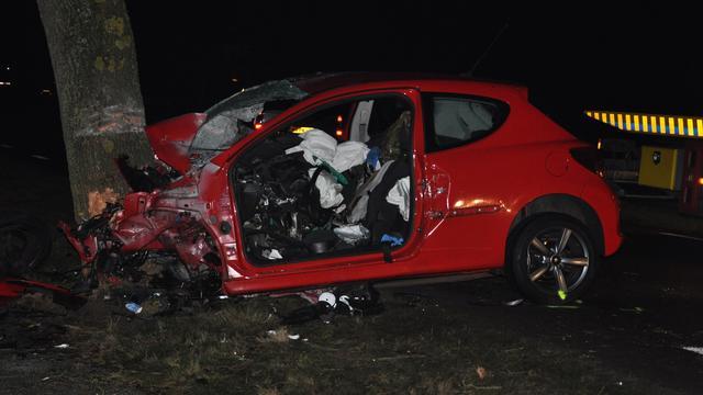 Dode bij eenzijdig ongeluk in Winschoten
