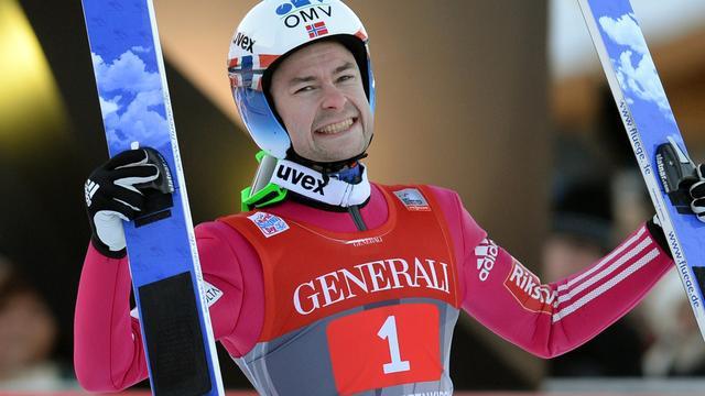 Jacobsen wint nieuwjaarsspringen in Garmisch-Partenkirchen