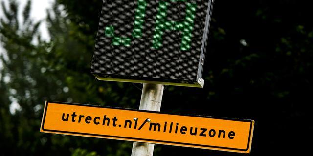 'Utrecht bestudeert strengere eisen milieuzone'