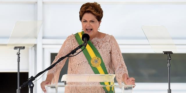 Dilma Rousseff beëdigd voor tweede ambtstermijn in Brazilië