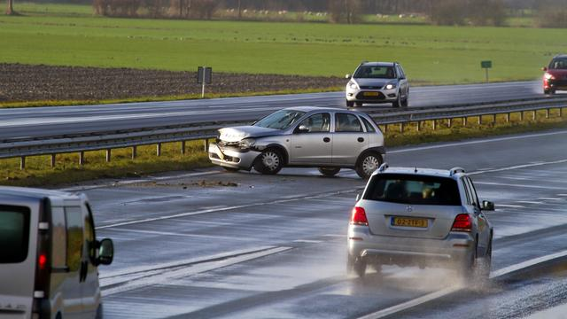 KNMI waarschuwt opnieuw voor gladde wegen