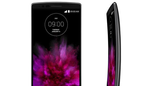 Kleinere opvolger van gebogen LG G Flex krijgt beter scherm