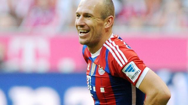 Robben door collega's uitgeroepen tot beste speler eerste seizoenshelft