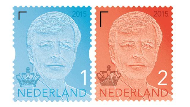 PostNL vervangt kroon koningspostzegel door Nederlandse versie