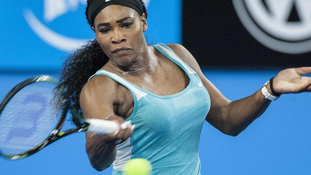 Serena Williams hard onderuit tegen Bouchard in Hopman Cup