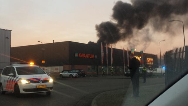 Uitslaande brand bedrijfsgebouw IJsselstein