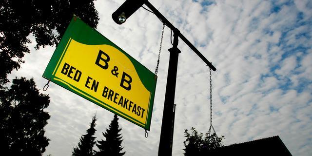Bed and breakfasts voor meeste eigenaren geen vetpot