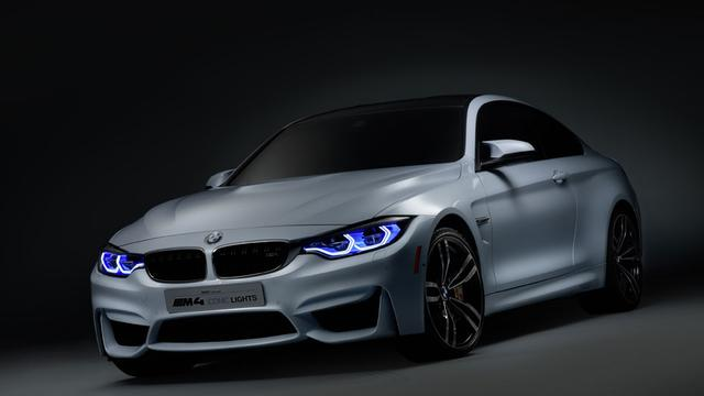 BMW M4 Iconic Lights toont mogelijkheden laserlicht