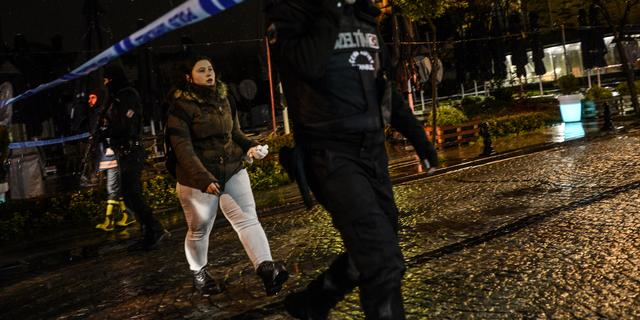 Links-radicalen claimen aanslag in centrum Istanbul