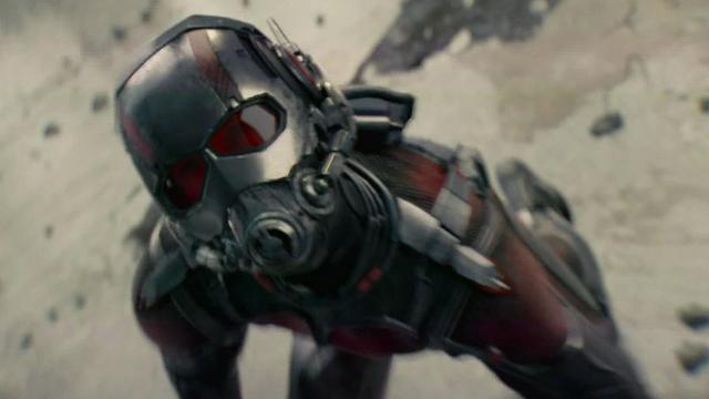 Eerste beelden van Paul Rudd als Ant-Man verschenen